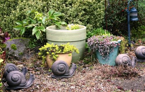 Prächtige Gartengestaltung eigenart charakter dekoartikel frisch