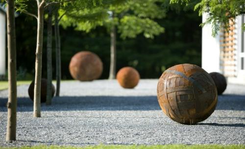 Prächtige Gartengestaltung persönlich ball rustikal design