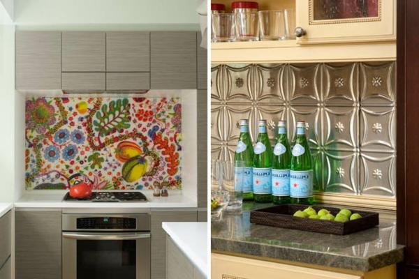 Schöne Küchenrückwand bemalt DIY
