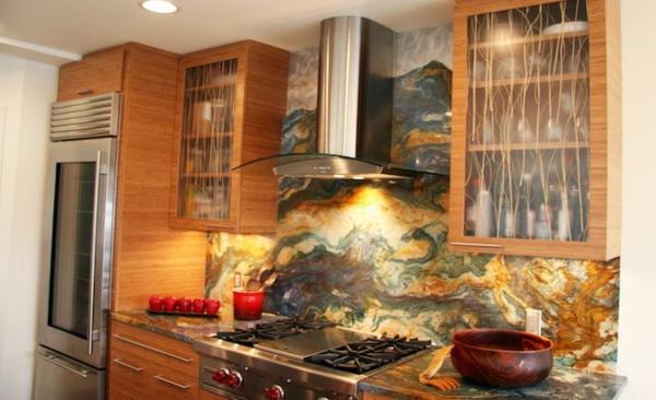 Schöne Küchenrückwand besteck abgebildet legende