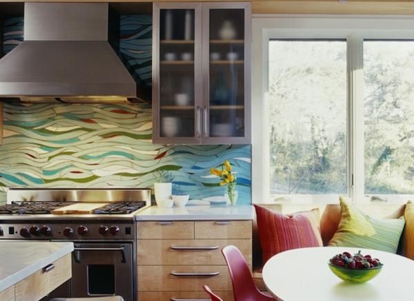 Küchenrückwand spüle küchenschrank wellen