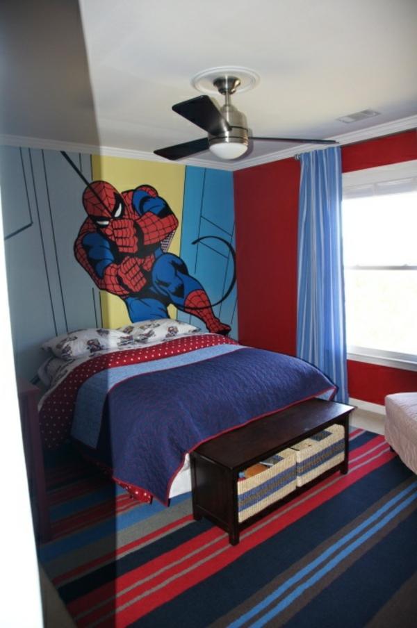 Wanddeko  Fototapeten helden spiderman