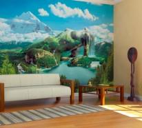 Wandgestaltung mit Fototapeten – 34 auserlesene Inspirationen