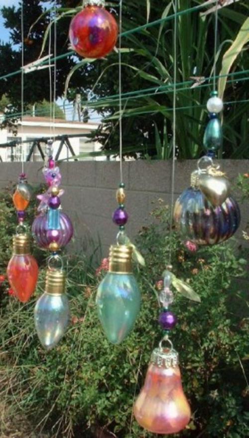 alte gegenstände glühbirnen kreativ