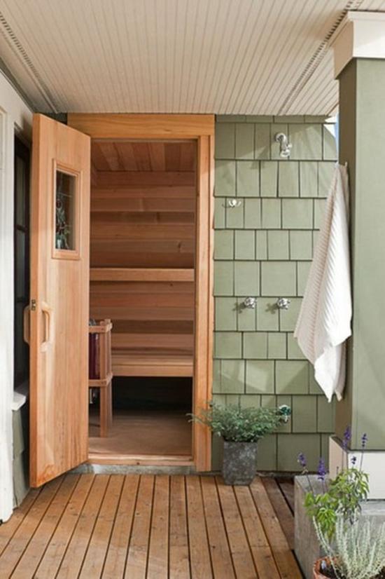 dusche im freien selber bauen ~ raum- und möbeldesign-inspiration - Dusche Im Freien Selber Bauen