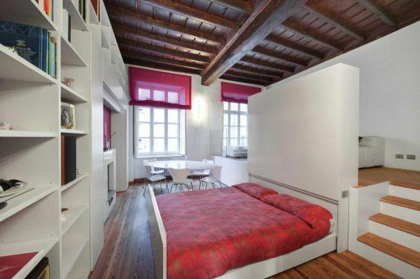 das ausziehbett clever und platzsparend wohnen. Black Bedroom Furniture Sets. Home Design Ideas