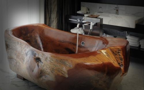 Freistehende badewanne holz  Badewannen Sofa: Solidea badewanne by antonio lupi design  design ...