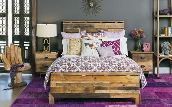 bett aus europaletten bauen 15 kreative und preiswerte beispiele. Black Bedroom Furniture Sets. Home Design Ideas