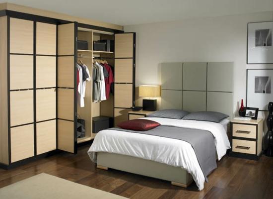 cool aussehen stil design Garderobe fürs Schlafzimmer