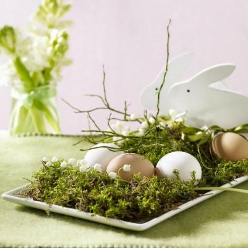 coole Bastelideen zu Ostern 2014 blumen frühling