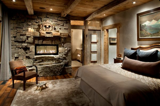 Rustic Master Bedroom Design Ideas
