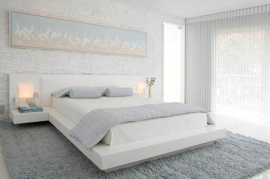 coole einrichtungsideen stadtwohnung einrichten schlafzimmer weiß