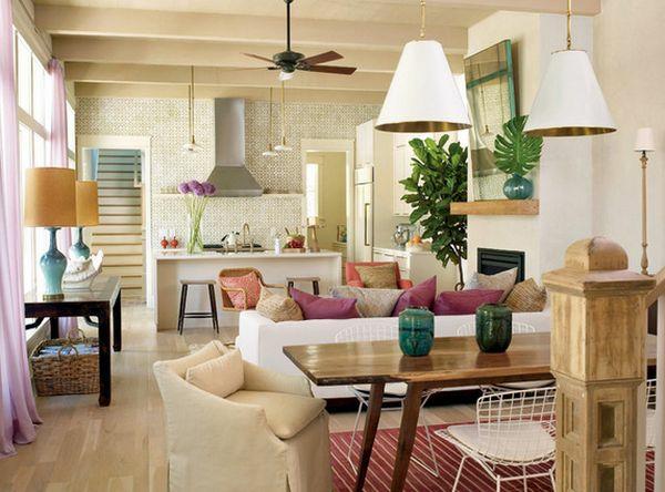 gro artige deckenleuchten f r kleine appartements. Black Bedroom Furniture Sets. Home Design Ideas