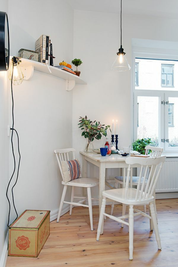 Narrow Kitchen Table For
