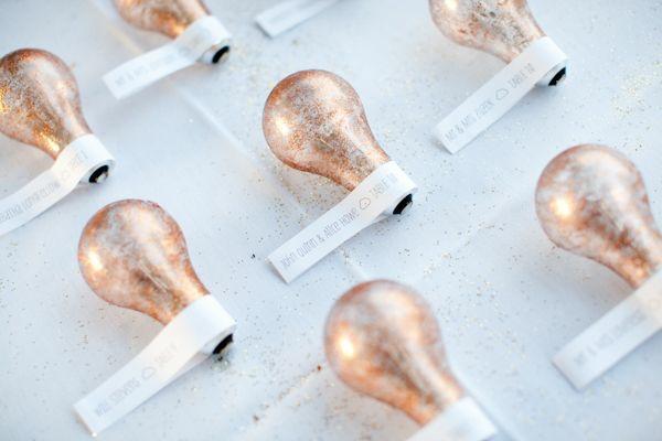 dekoration glühbirnen karten