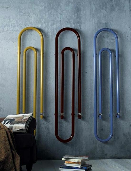 Designheizkörper in verschieden Formen und Farben