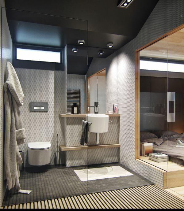 einrichtungsideen toilette badezimmer