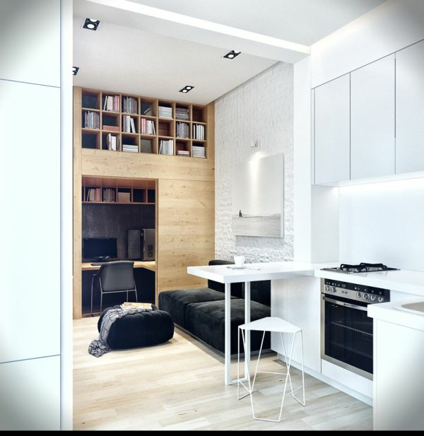 einrichtungsideen wohnzimmer hocker tisch