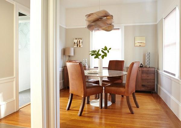 esszimmer esstisch stühle polsterung tischplatte