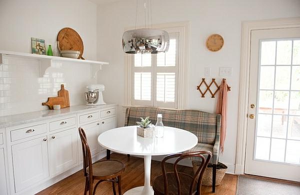 esszimmer esstisch mit stühlen sitzbank traditionell
