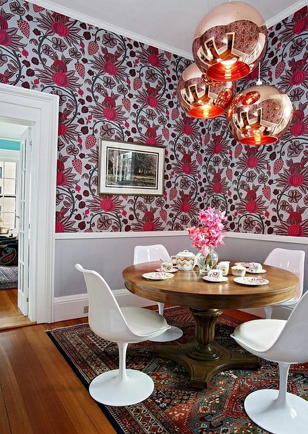 Esszimmer Tapeten Fotos : Einrichtungsideen für kleine esszimmer