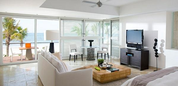 esszimmer esstisch mit stühlen wohnzimmer bett