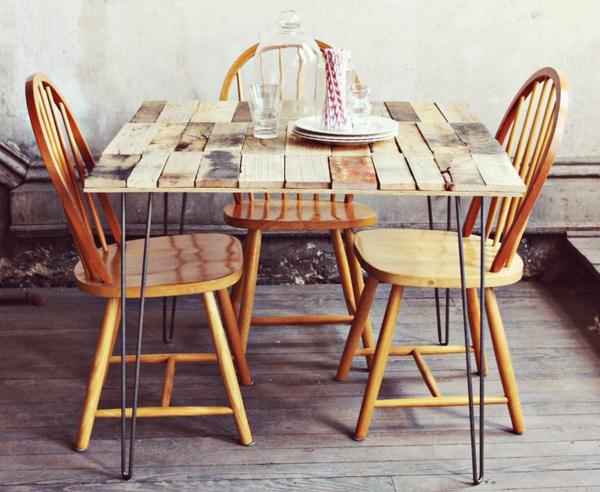 DIY Möbel aus Europaletten möbel bastelideen ideen