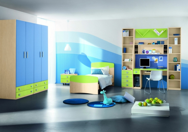 wohnideen fur kinderzimmer madchen jungs – inkfish, Schlafzimmer design