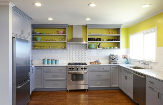 Küchengestaltung Ideen küchengestaltung ideen die ihre küche erhellen und aufpeppen werden