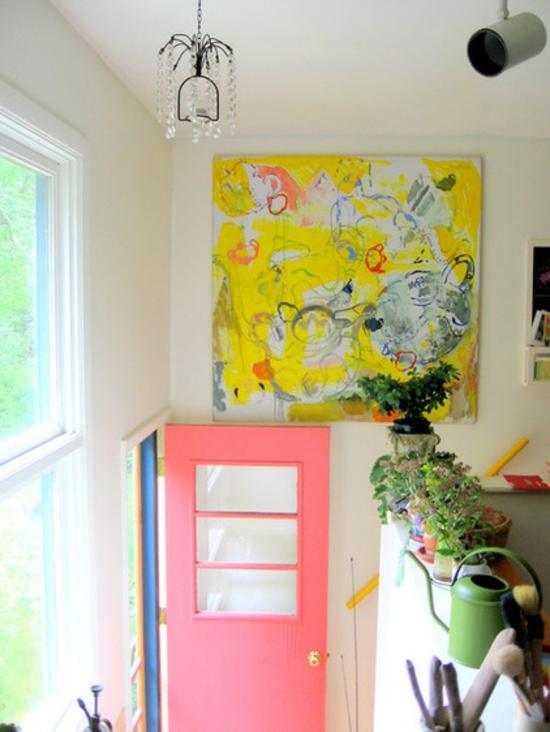 farbgestaltung und bunte wohnideen farbideen pastellfarben rosa