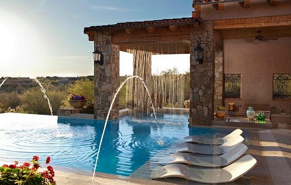 Garten mit pool gestalten 20 traumhafte gartenpools als for Luxus garten pool