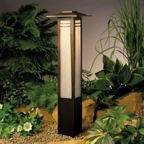 garten außenbeleuchtung tipps ideen außenleuchte bodenlampe