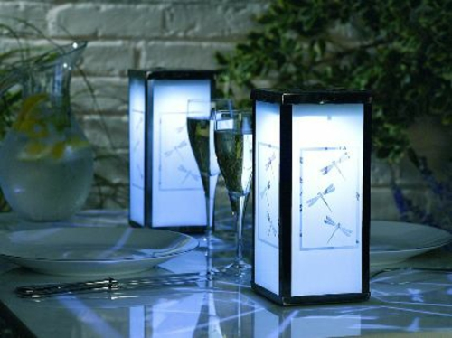 gartenbeleuchtung tipps ideen außenleuchte tisch deco lampen