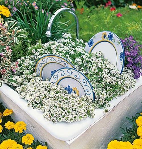 Gartendekoration selber machen 20 spezielle dekoideen f r sie - Gartendekoration selber machen ...