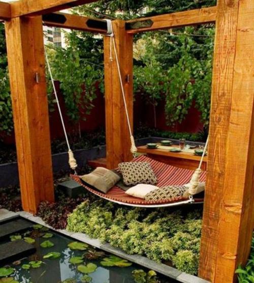 gartenschaukel selber bauen wundersch ne ideen und tipps. Black Bedroom Furniture Sets. Home Design Ideas
