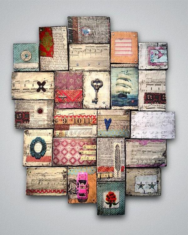holz paletten möbel selbst basteln DIY ideen eklektisch