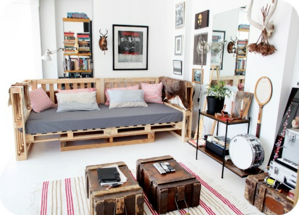 holz paletten möbel selbst basteln