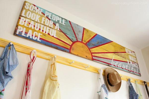 holz paletten möbel selbst basteln DIY ideen toll