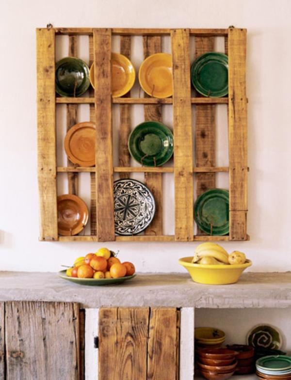 DIY Möbel aus Europaletten selbst basteln DIY küchen mobiliar