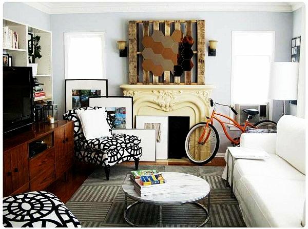 holz paletten möbel selbst basteln DIY rund