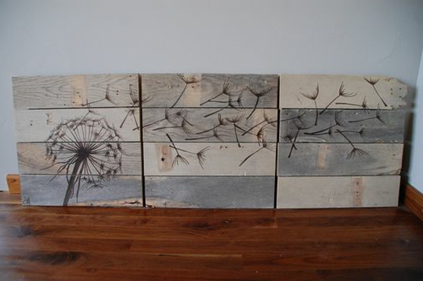 holz paletten möbel selbst basteln DIY