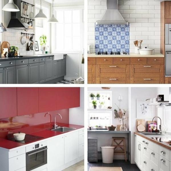 ikea küchenschrank vier varianten