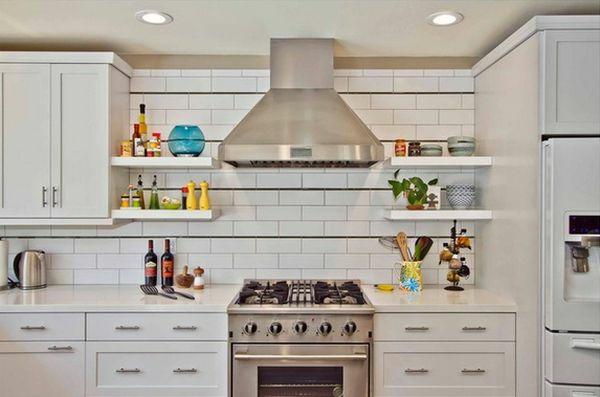 küche möbel absauger chrom