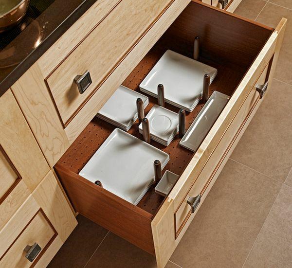 Tricks Und Tipps Für Organisation Der Küchen Schubladen. Küche