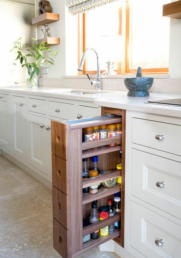 10 Kluge Ideen Für Moderne Küche Möbel Mit Extra Stauraum | DIY ...
