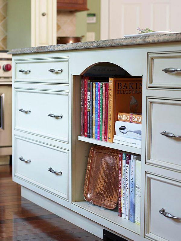 küche möbel kochbücher