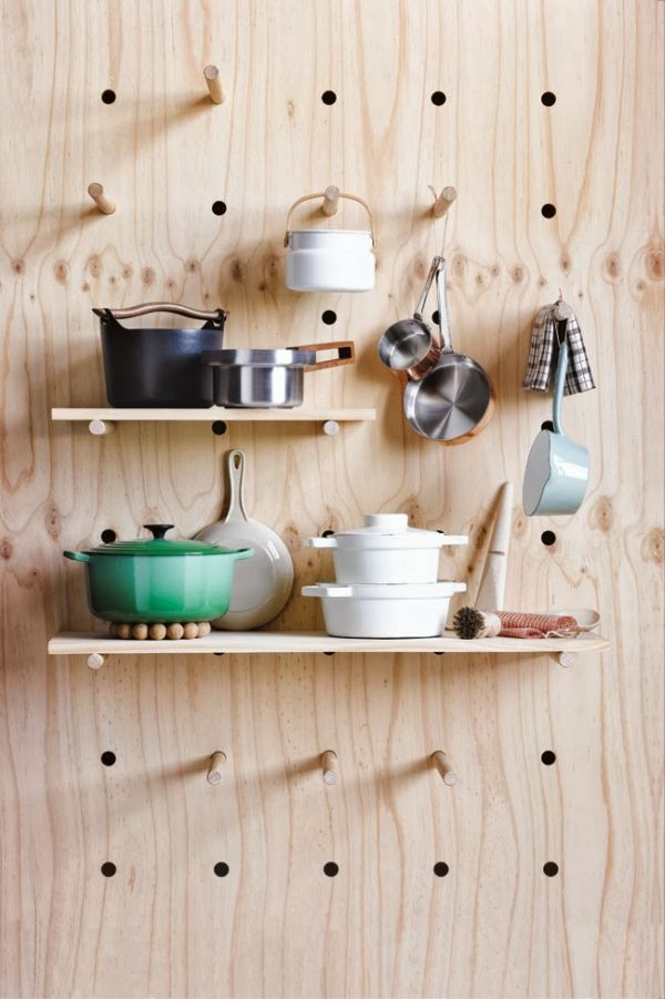 küche möbel pfannen töpfe