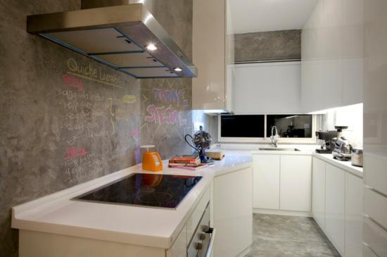 küchengestaltung ideen, die ihre küche erhellen und aufpeppen werden - Kche Ideen Wandgestaltung