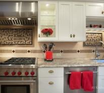 Küchenrückwand anzubringen kann Ihre Kreativität testen