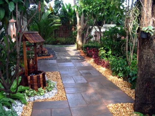 naturholz im garten – rekem, Garten und Bauen